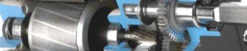 Inside a Bodine Type 30R-D Gearmotor