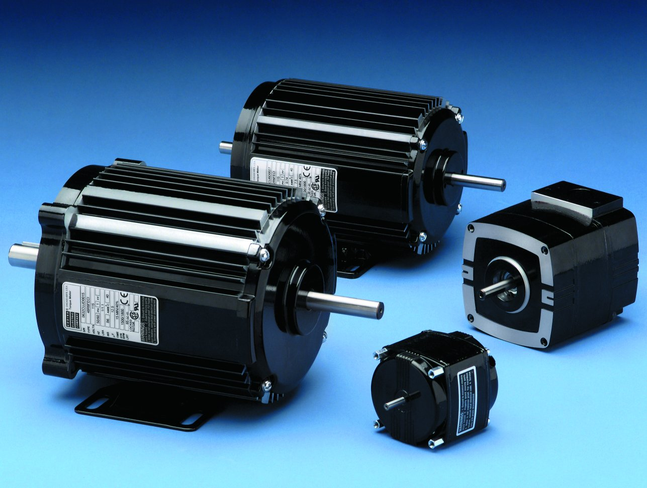 AC Torque Motors from Bodine: type K-2 to 48R