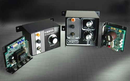 Bodine Type WPM & UPM DC Motor Speed Controls (Low Voltage 0-12V, 0-24V; or 115VAC-in, 0-90V, 0-130V)