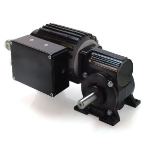 Bodine 34B4/FV-5N Low-Voltage, Right-Angle, Brushless DC (EC) Gearmotor