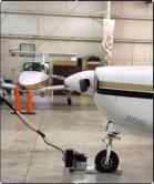 Purdue-ME-Project_portable electric towbar_pulling plane_12-11-2013a