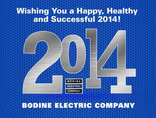2014 Wishes from Bodine Electric Company 01-10-2014