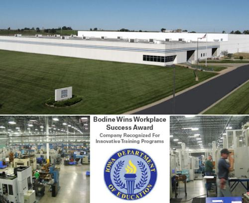 Bodine Electric Receives Workplace Success Award
