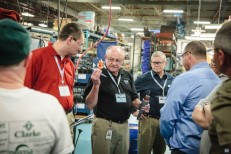 Bodine Distributor Conference: Plant Tour, DC Armatures 04/2014