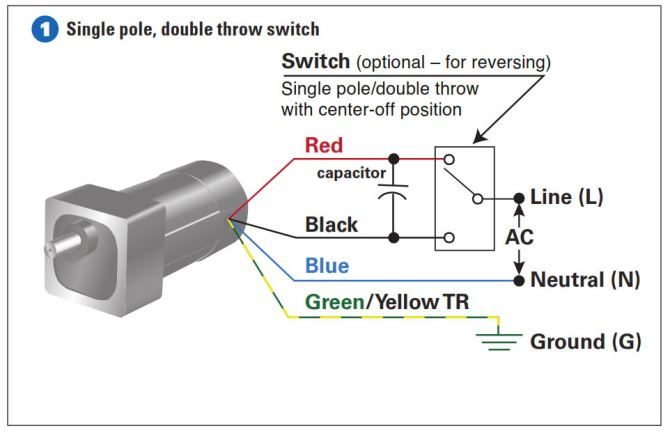 diagram single pole switch wiring diagram to motor full