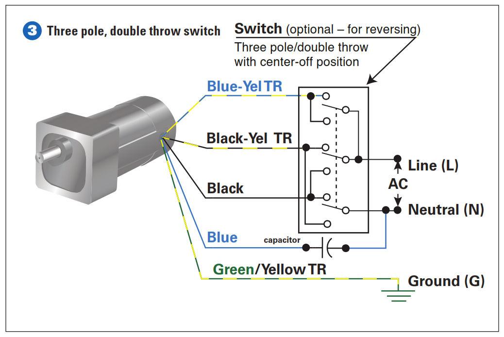 Electric Reversible Motor Switch Wiring - Wiring Diagram