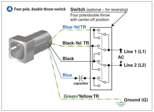 3 Pole 4 Wire Wiring Diagram