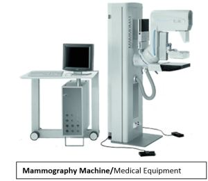 Bodine Electric_Mammography Machine - Medical Equipment