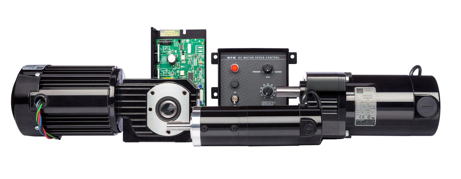 Bodine Gear Motor Vdc Gearmotor 32x5bepm W2 Dc Ac Dayton Electric Wiring Diagram Am A Cutler Hammer Db1 Gearmotors And Speed Controls