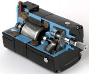Bodine-Gearmotor-Typical-Gearmotor-Construction