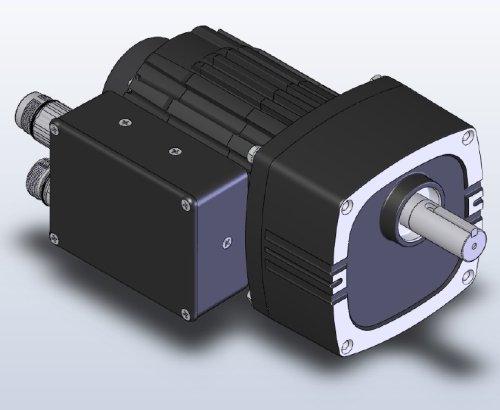 Bodine 34B-FV-FX_BLDC-Gearmotor w Control and Encoder
