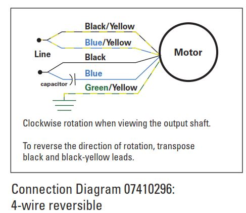 Blog > Bodine Electric Company Ac Start Capacitor Wiring Diagram on
