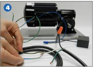 Step 4- How to Install a 0984 for AC gearmotors
